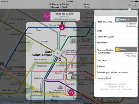 【免費旅遊App】巴黎铁路图-APP點子
