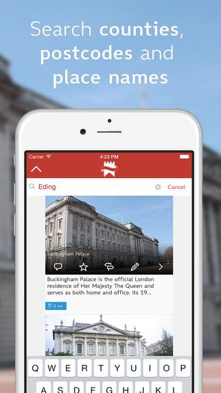 Heritage App Screenshots