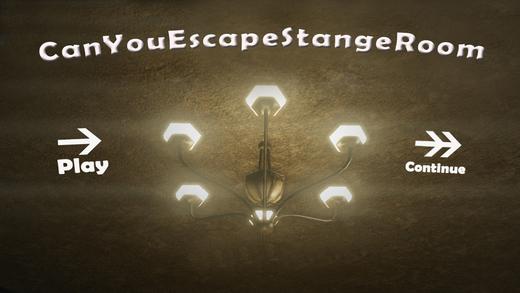 Can You Escape Strange Room 1
