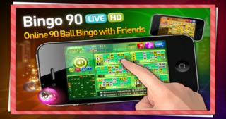 Bingo 90 Live HD plus FREE slots