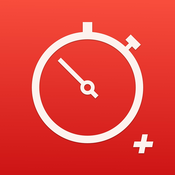 Stopwatch Plus: Best Fitness Time Tracking Watch (Ad free)