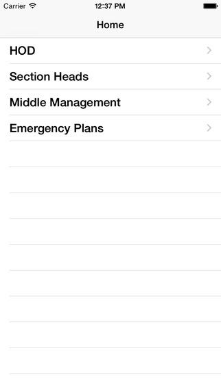 Landau Emergency Preparedness App