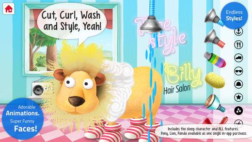 Silly Billy Hair Salon: Styling App for Kids Screenshots