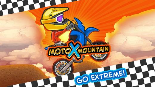 Moto X Mountain- Free Motocross Physics Game