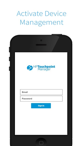 HP Touchpoint Manager