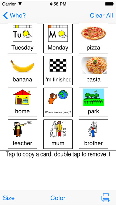 Picture Card Maker PLUS Aplicaciones gratuito para iPhone / iPad screenshot