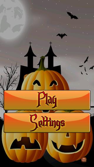 Creepy Funny Halloween Pumpkin Tower Stack LX