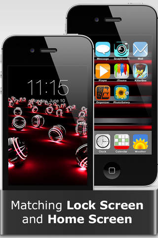 Screenshot 2 iTheme - Themes for iPhone,  iPad and iPod Touch - Magic Wallpapers and Backgrounds