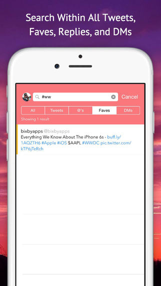 Tweet Seeker - Search Your Tweets, Mentions, Faves, and DMs, Import Your Twitter Archive Screenshots