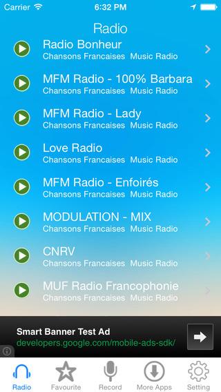Chansons Francaises Music Radio