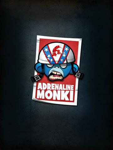 Mr Monkey Spring Jump