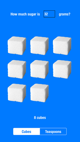 How Much Sugar Is It In Spoons Or Cubes