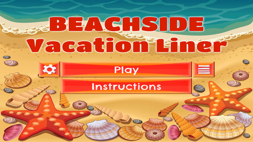 Beachside Vacation Liner - PRO - Slide Rows And Match Vintage 90's Items Super Puzzle Game