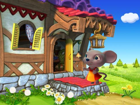Теремок - живая и добрая интерактивная развивающая сказка для детей