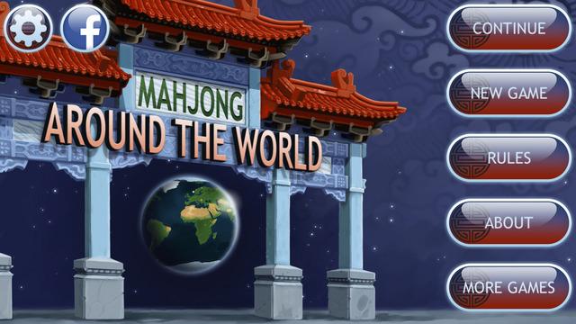 Mahjong Around The World Gold
