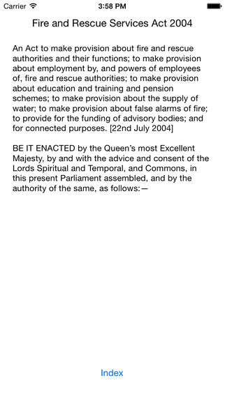 Fire and Rescue Services Act 2004