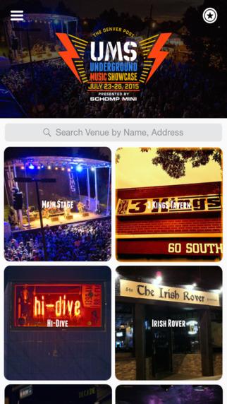 Denver Post Underground Music Showcase Official App