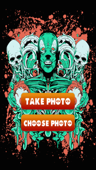 Zombie Face Transformation - Scary Monster Photo Booth Paid