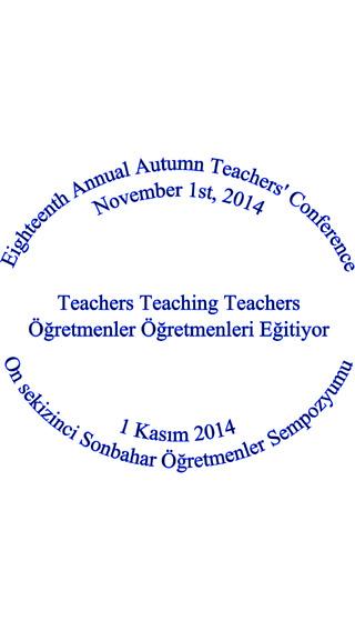 Sonbahar Öğretmenler Semineri 2014