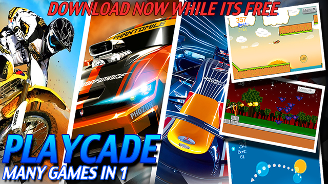 PLAYCADE : Lots Of Games In 1