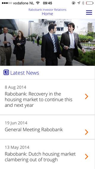 Rabobank Investor Relations