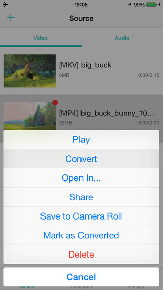 iConv - Video To Audio Converter Screenshots