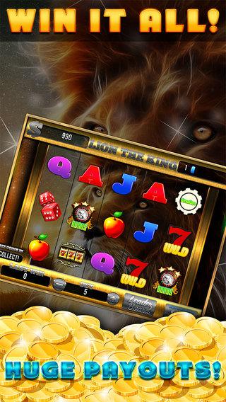 Lion The King - Best Slots Star Casino Simulator Mania