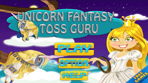 Unicorn Fantasy Toss Guru Throw Free