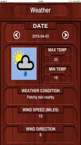Weather Status in the City World wide Weather