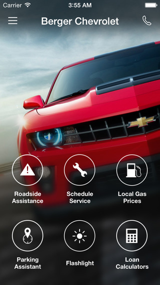 Berger Chevrolet DealerApp