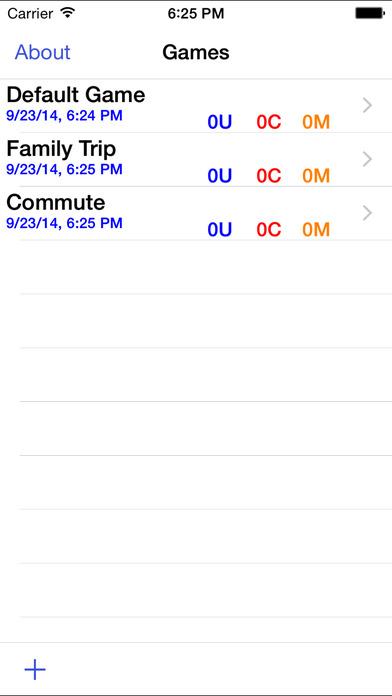 State Plate Hunt iPhone Screenshot 1