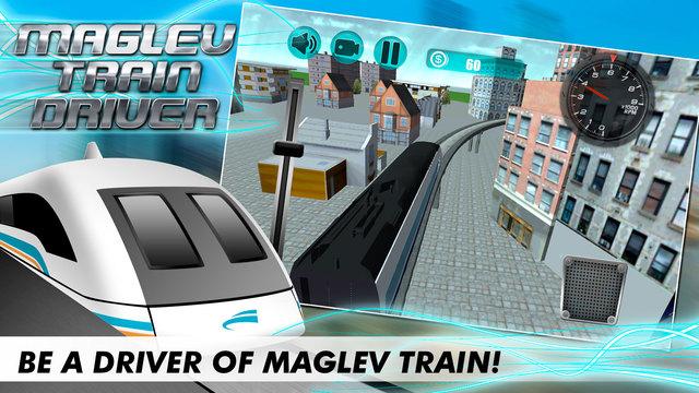 Maglev Train Driver 3D