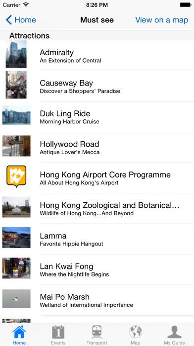 Hong Kong Travel Guide Offline iPhone Screenshot 4