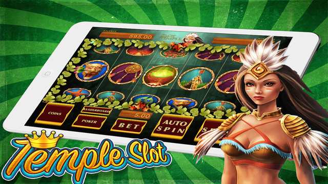 Slot machine - the jungle girl in temple