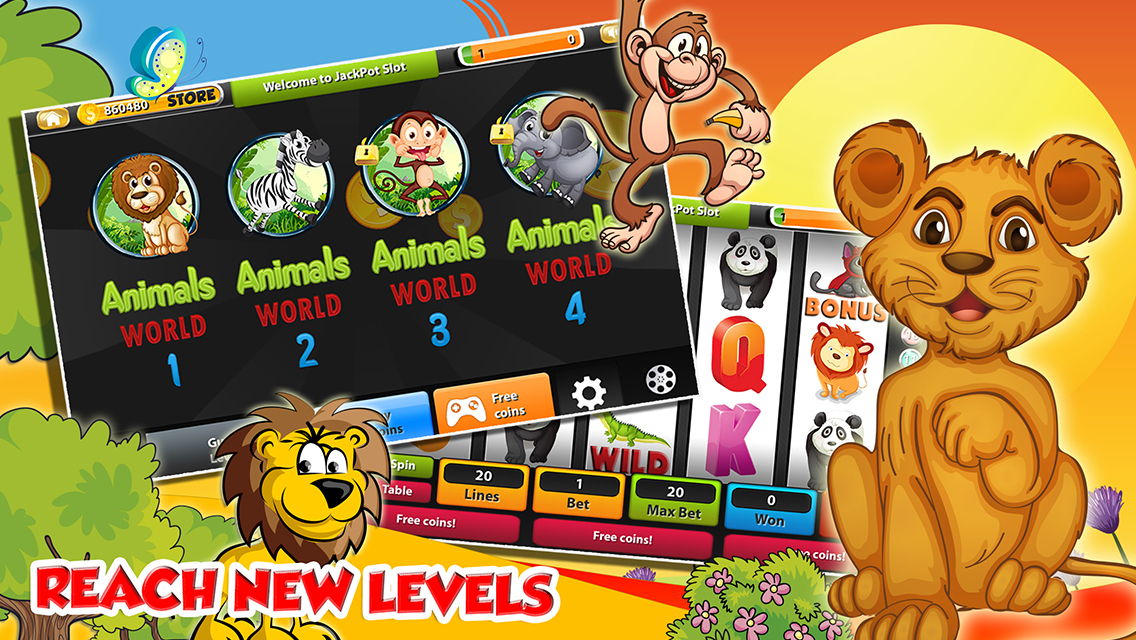 Animal Themed Slots – Online Slots with Animals