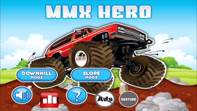 MMX Hero - Offroad Monster Truck Racing Vs. Destruction Legends