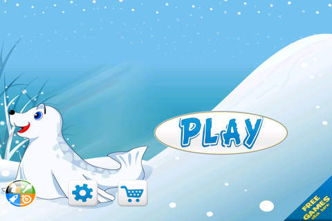 Arctic Seal Escape - Crazy Snow Hill Chase screenshot 3