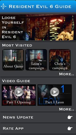 Guide for Resident Evil 6 + Walkthrough