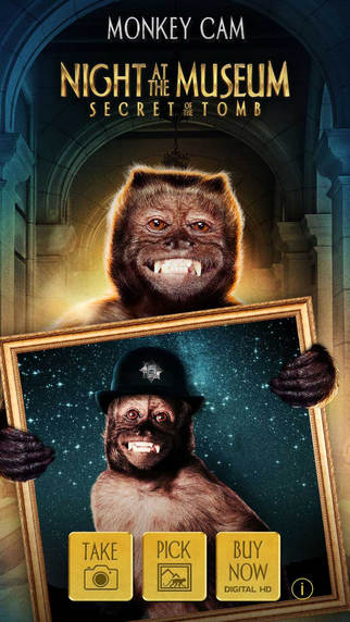 Night at the Museum: Secret of the Tomb - MonkeyCam