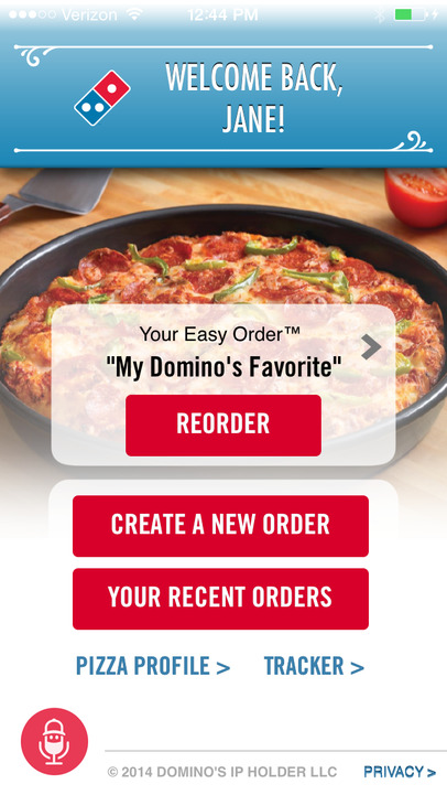 Domino's Pizza USA - iPhone Mobile Analytics and App Store Data