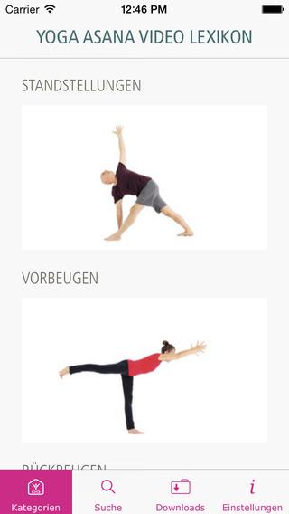 Yoga Asana Video Lexikon
