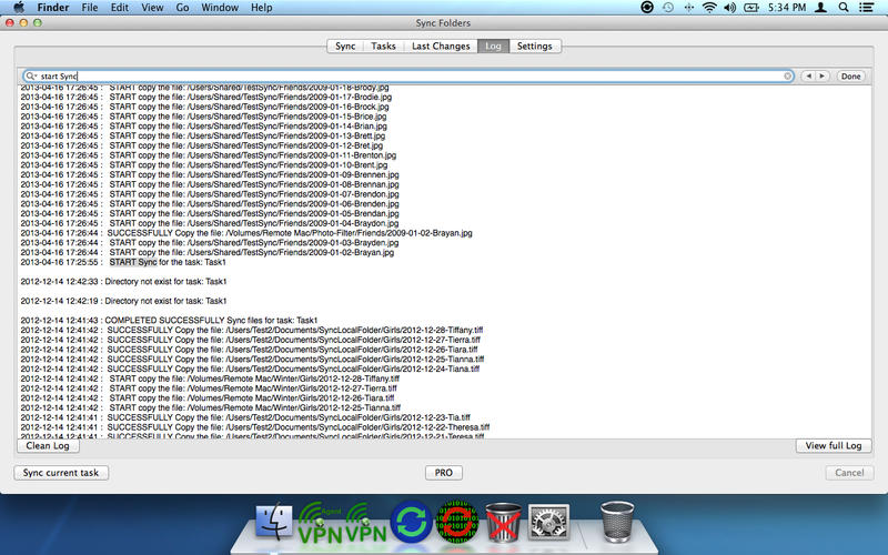 Sync Folders for Mac