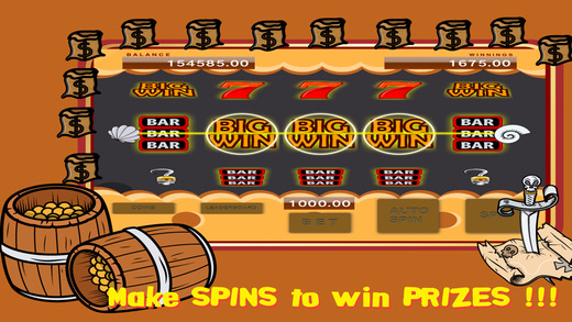 Aztec Pirate's King of Dark Party - Slots Machine Free