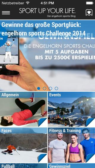 SPORT UP YOUR LIFE - Der engelhorn sports Blog