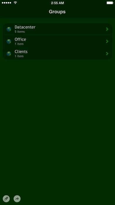 Net Status - remote server monitor Screenshot