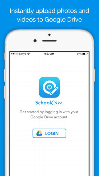 SchoolCam - Camera for Google Drive and Classroom - For participating school districts