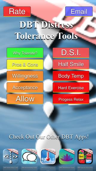 DBT Distress Tolerance Tools
