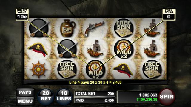 【免費遊戲App】Pirate Island (Slots)-APP點子