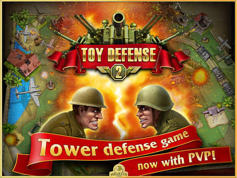 Screenshot #1 for Toy Defense 2 HD – strategy