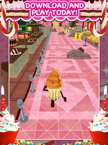 Игра 3D Cupcake Girly Girl Bakery Run Game FREE